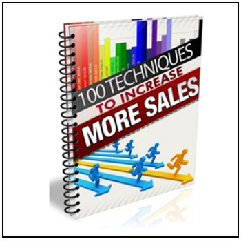 100 Ways to Increase Sales - Free for registered participants.