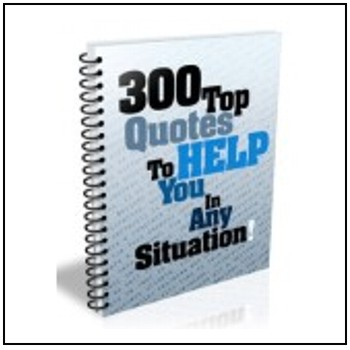 300 Top Quotes - Free for registered participants.